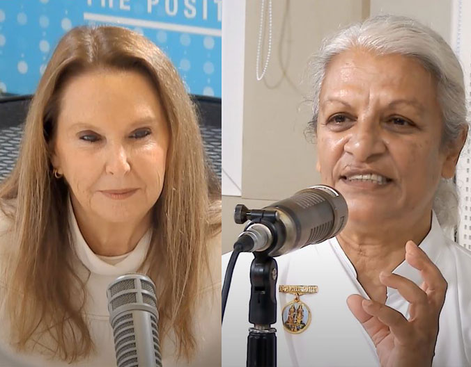 The Path to Enlightenment and Inner Peace / Shari Arison Meets Gayatri Naraine